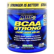 Bcaa Strong, Sour Ball, 30 Servings (9.16 oz)