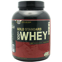 100% Whey, Cookies N' Cream, 5.15 lbs (2341 g)