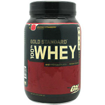 100% Whey, Delicious Strawberry, 2 lbs (909g)