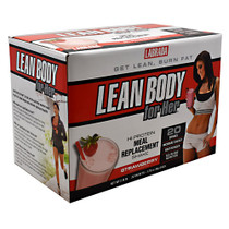 Lean Body For Her, Strawberry, 20 - 1.73 oz Packets