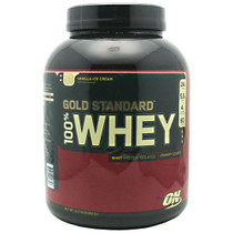 100% Whey, Vanilla Ice Cream, 5 lbs