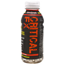 Critical Fx, Citric Crush, 12 - 12 fl oz (355 ml) Servings
