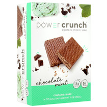 Power Crunch, Chocolate Mint, 5 (1.4 oz) Bars