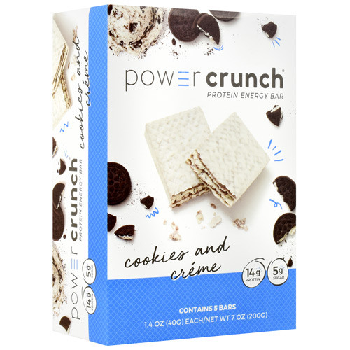 Power Crunch,cookies And Creme, 5 (1.4 oz) Bars