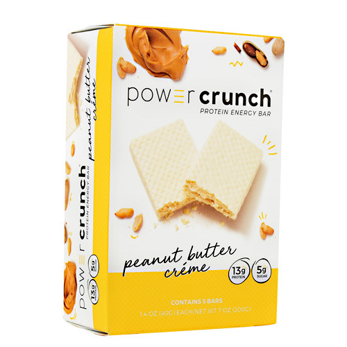 Power Crunch, Peanut Butter Creme, 5 (1.4 oz) Bars