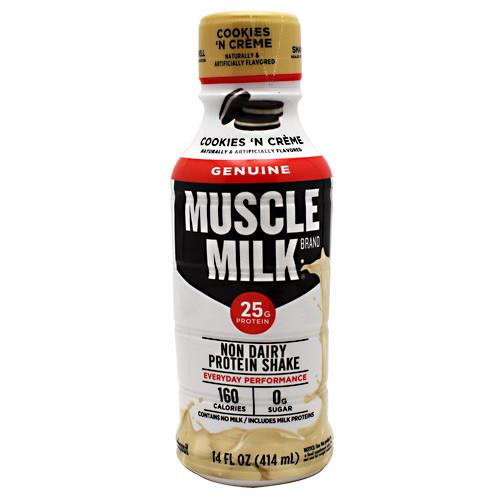 Muscle Milk Rtd, Cookies 'n Creme, 12 - 14 fl oz (414 mL) Servings
