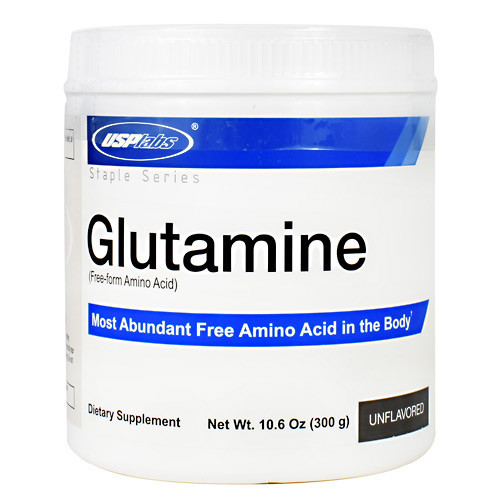 Glutamine, Unflavored, 60 Servings (10.6 oz)