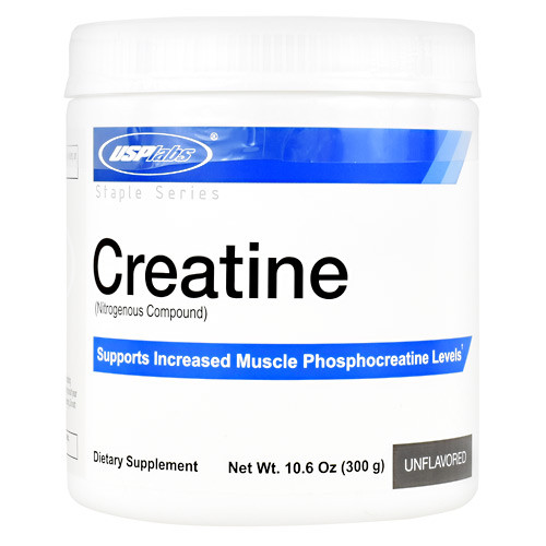 Creatine, Unflavored, 60 Servings (10.6 oz)