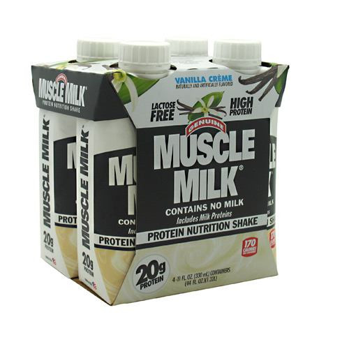 Muscle Milk Rtd, Vanilla Creme, 12 - 11 fl. oz. Bottles