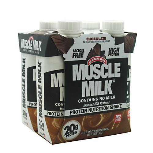Muscle Milk Rtd, Chocolate, 12 - 11 fl. oz. Cartons