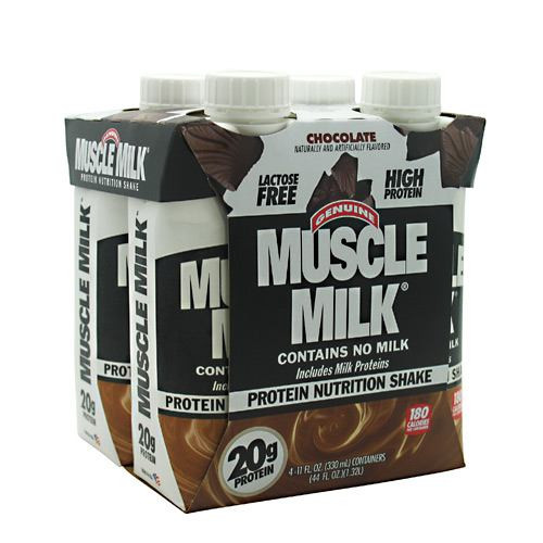 Muscle Milk Rtd, Chocolate, 12 - 11 fl. oz. Cartons