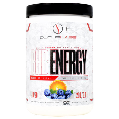 Bhb Energy, Blueberry Citrus, 40 Servings (280 G)