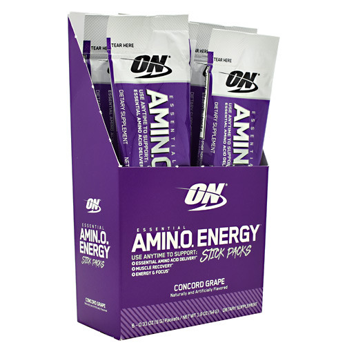 Essential Amino Energy, Concord Grape, 6 (0.31oz) Packets