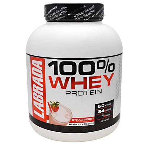 100% Whey Protein, Strawberry, 4.13lb (1875g)