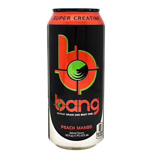 Bang, Peach Mango, 12 - 16 oz. Cans