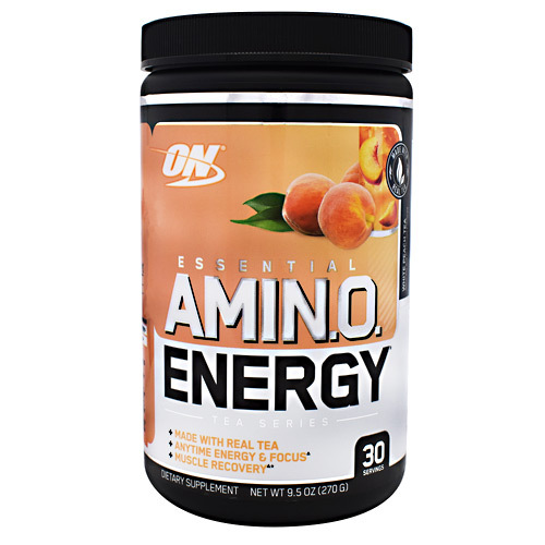 Essential Amino Energy, White Peach Tea, 30 Servings