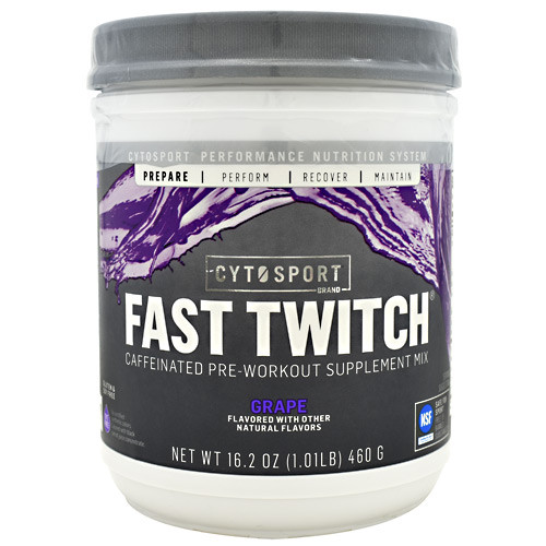 Fast Twitch, Grape, 20 Servings (16.2 oz.)