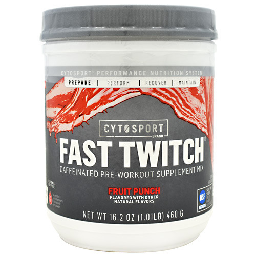 Fast Twitch, Fruit  Punch, 20 Servings (16.2 oz.)