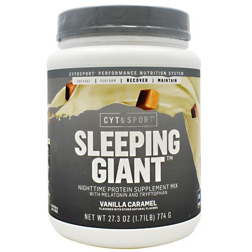 Sleeping Giant, Vanilla Caramel, 18 Servings (27.3 oz.)
