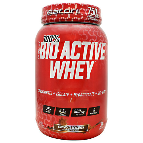 Bio-active Whey, Chocolate Sensation, 30 Servings (2.31 lbs.)