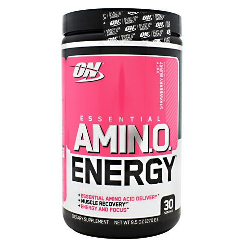 Essential Amino Energy, Juicy Strawberry Burst, 30 Servings (9.5 oz)