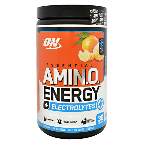 Amino Energy + Electrolytes, Tangerine Wave, 30 Servings