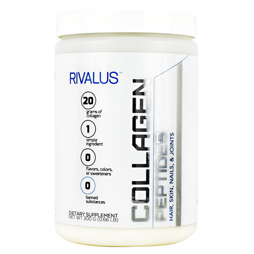 Collagen Peptides, Unflavored, 15 Servings (300 G)
