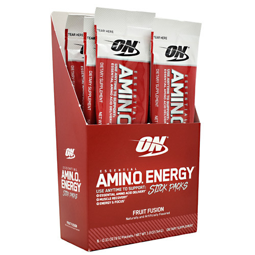 Essential Amino Energy, Fruit Fusion, 6 (0.31oz) Packets