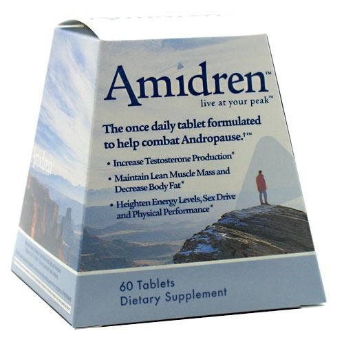 Amidren Andro-t, 60 Tablets, 60 Tablets