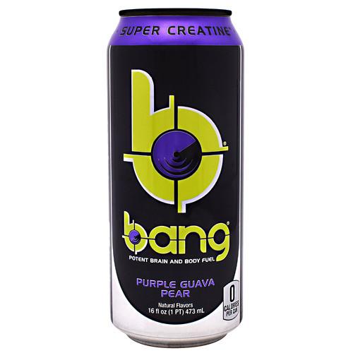 Bang, Purple Guava Pear, 12 - 16 fl oz Cans