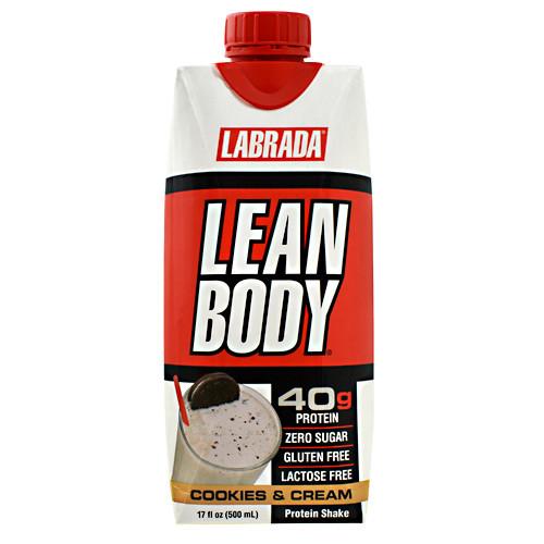 Lean Body Rtd, Cookies & Cream, 12 - (17 fl oz) Shakes
