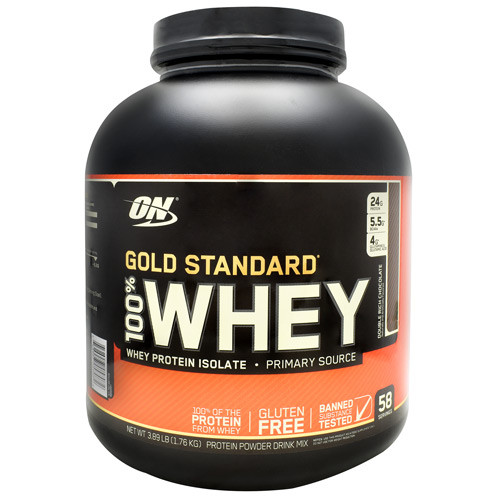 100% Whey, Double Rich Chocolate, 58 Servings (3.89 lb)