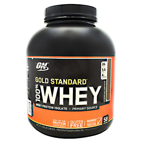 100% Whey, Extreme Milk Chocolate, 58 Servings (4.09 lb)