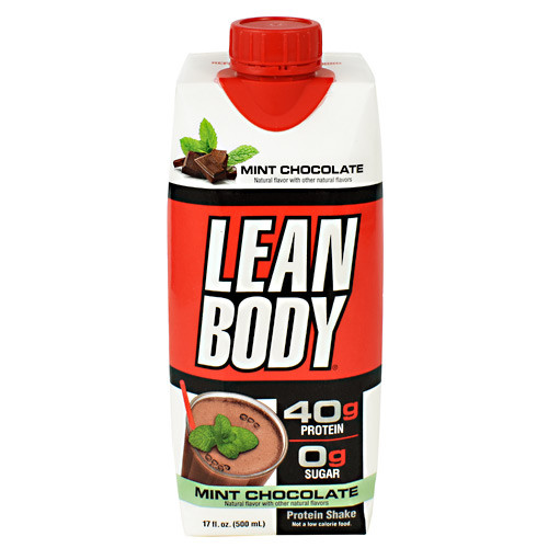 Lean Body Rtd, Mint Chocolate, 12 (17 fl oz )Containers