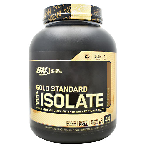 100% Isolate, Chocolate Bliss, 44 Servings (3 lb)