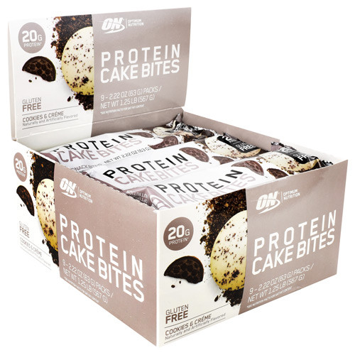 Cake Bites, Cookies And Creme, 9 (2.22 oz) Packs