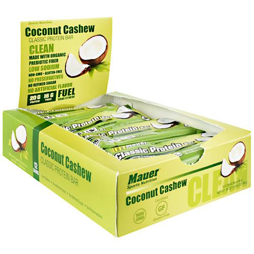 Classic Protein Bar, Coconut Cashew, 12 (2.29 oz) Bars