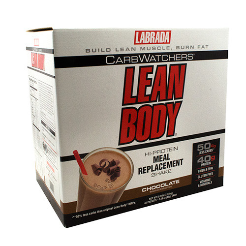 Lean Body Carbwatchers, Chocolate, 42-2.29 oz (65 g) each