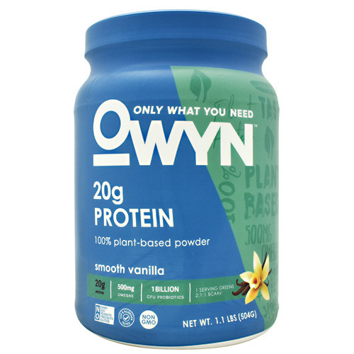 Plant Protein, Smooth Vanilla, 14 Servings (1.1lb)