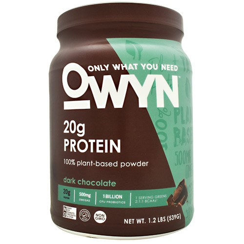 Plant Protein, Dark Chocolate, 14 Servings (1.2lb)