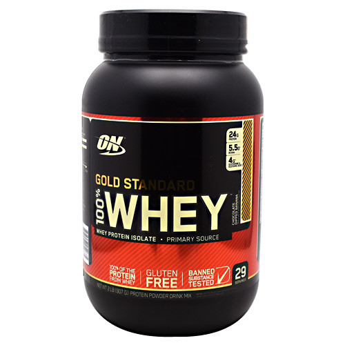 100% Whey, Chocolate Dipped Banana, 2 lbs (907 g)