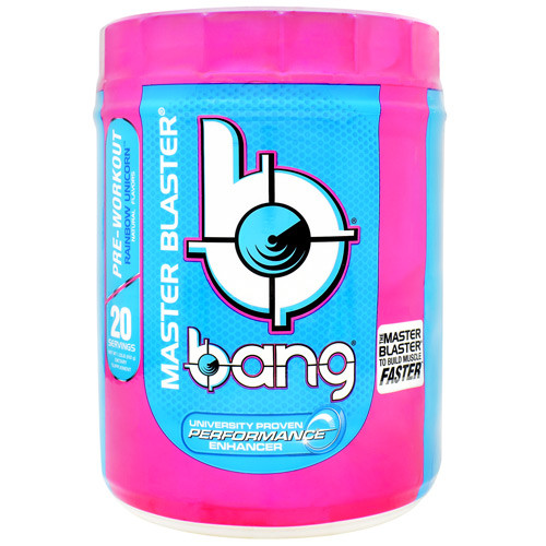 Bang Master Blaster, Rainbow Unicorn, 20 servings
