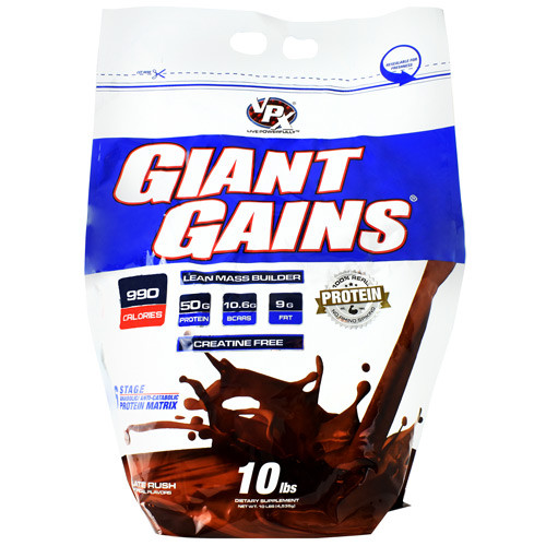 Giant Gains, Chocolate Rush, 10 lbs