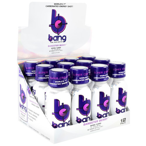 Bang Shot, Bangster Berry, 24 (3 fl oz) Shots