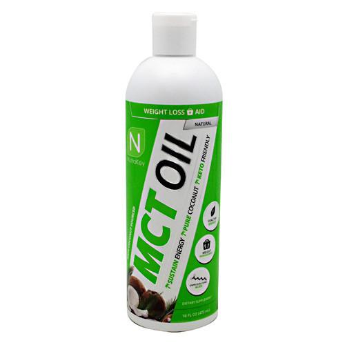 Mct Oil, Natural, 16 fl oz (473 mL)