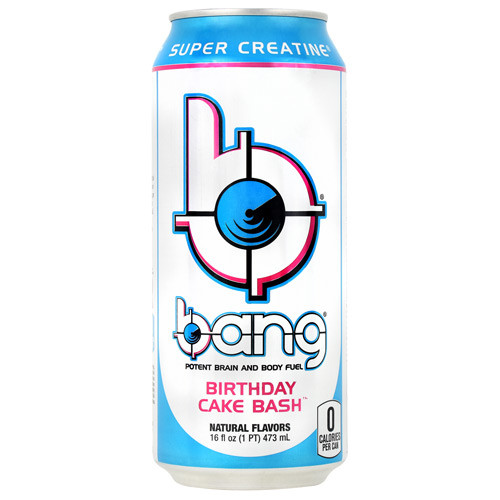 Bang, Birthday Cake Bash, 12 - (16oz) Cans