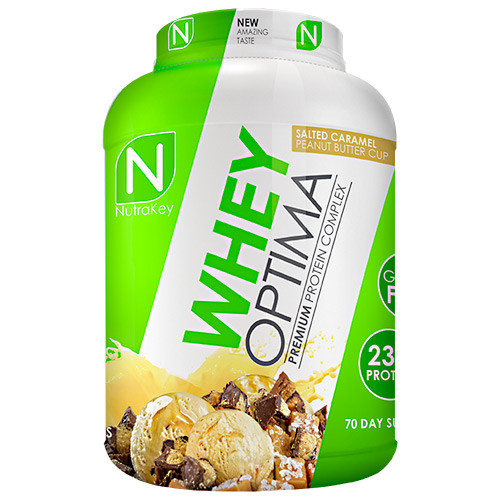 Whey Optima, Salted Caramel Peanut Butter Cup, 70 Servings