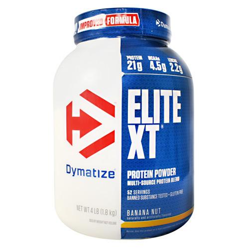 Elite Xt, Banana Nut, 4 lbs (1.8 kg)