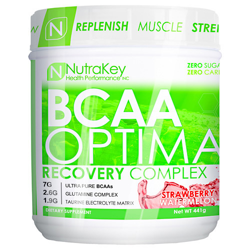 Bcaa Optima, Strawberry Watermelon, 30 servings