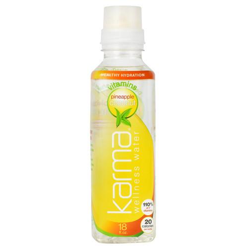 Wellness Water, Pineapple Coconut, 12 (18 fl oz) Bottles